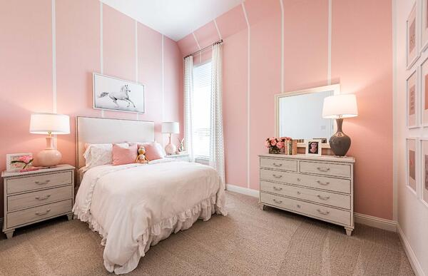 Soft Pink Hue for Kid's Bedroom